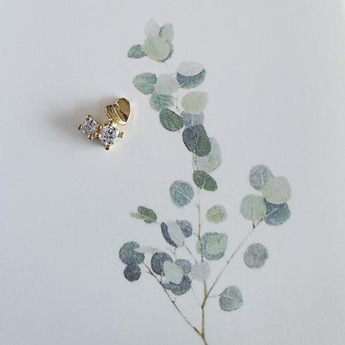 ZHAXILAMU Nail Jewelry - Heart #2 (1 piece)