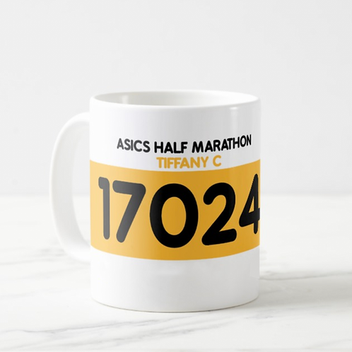 HK DESIGN- Personalized Mugs 訂製號碼布水杯