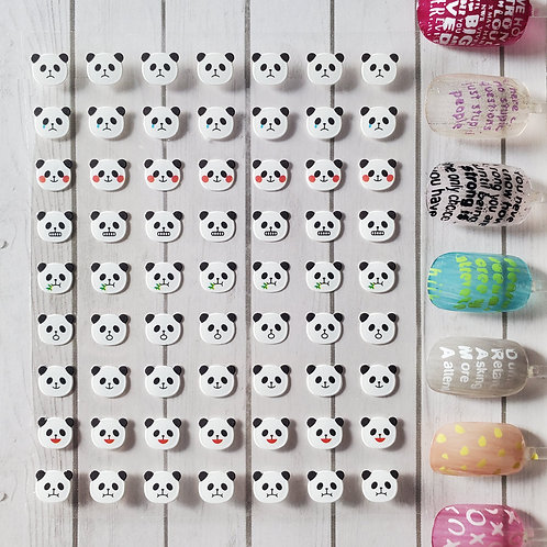 3D Nail Art Stickers Decals #87