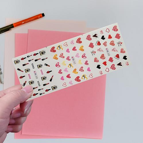 Water Decals Transfer Stickers #9 @piece