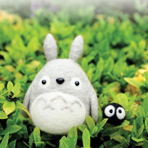DIY- 小龍貓材料包Totoro & 煤炭球 (套裝包) DIY Totoro & ススワタリ (Package)