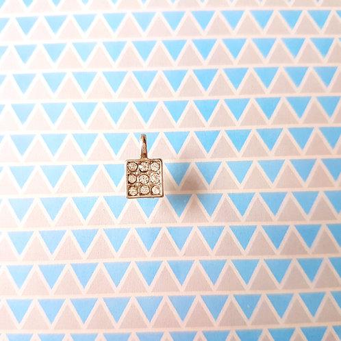 PENDANT - Charms DIY - Blink Square 垂飾閃亮正方型