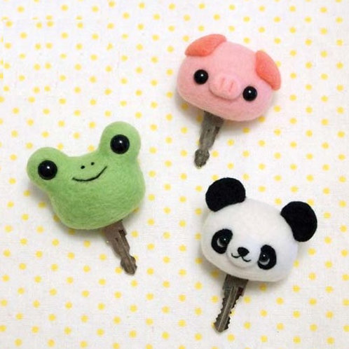 DIY- 小動物匙套 (套裝包) DIY Mobile Key Chain (Package)