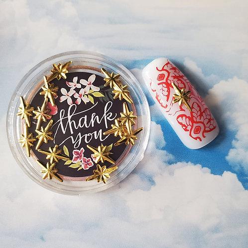 ZHAXILAMU Mandalas Jewelry Box #15 Star L (1 box)