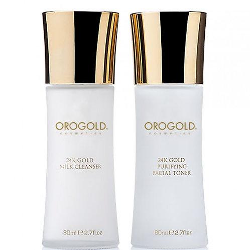 Orogold 24K Milk Cleanser 30g OROGOLD 24K純金納米牛奶潔面乳