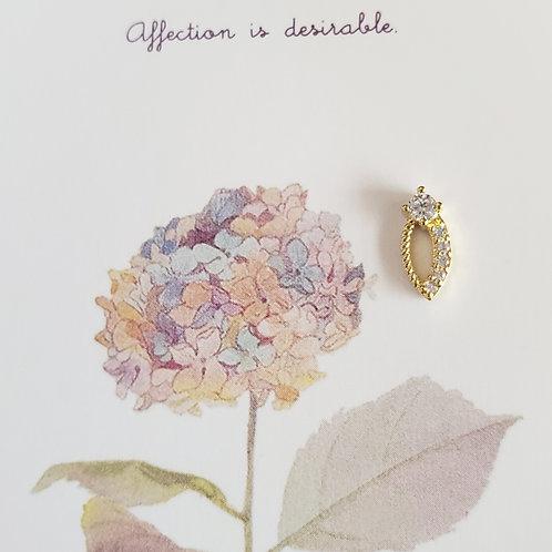 ZHAXILAMU Nail Jewelry #i (1 piece)
