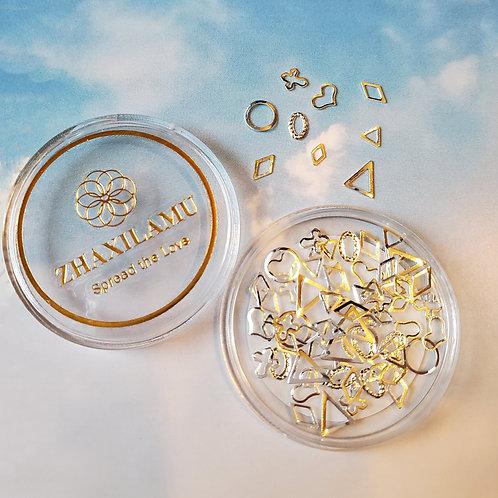 ZHAXILAMU Mandalas Jewelry Box - Silver #7 (1 box)