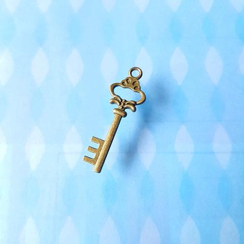 DIY Handicrafts - Antique Key Style 古董款 愛麗愛麗絲夢遊仙境 鑰匙吊墜