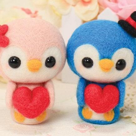 DIY- 情侶小企鵝 (套裝包) DIY Penguin Sweet Lovers (Package)