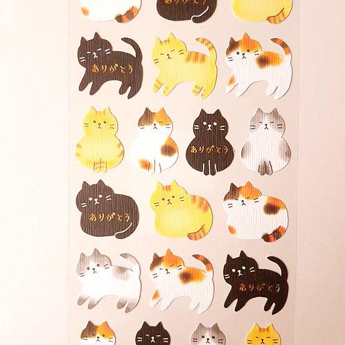 STICKERS - Lovely Animals - Cat 貼紙 可愛動物 - 貓