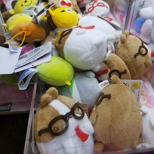 Claw Machine Mini Plush 正版迷你夾公仔批發零售 Wholesale Retail (100 pieces up)
