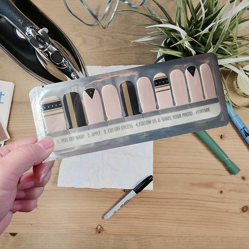 Designers' Nail Wraps -Tintark #8