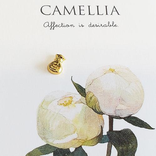 ZHAXILAMU Nail Jewelry - Yellow Gold Lucky Art #9 (1 piece)