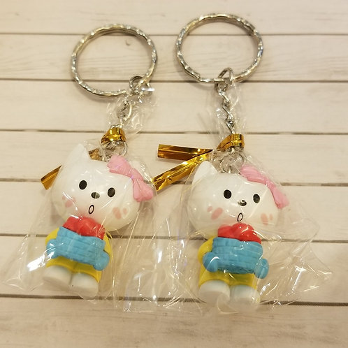 TOYS - FIGURINES Key-chain 蛋糕小貓匙扣