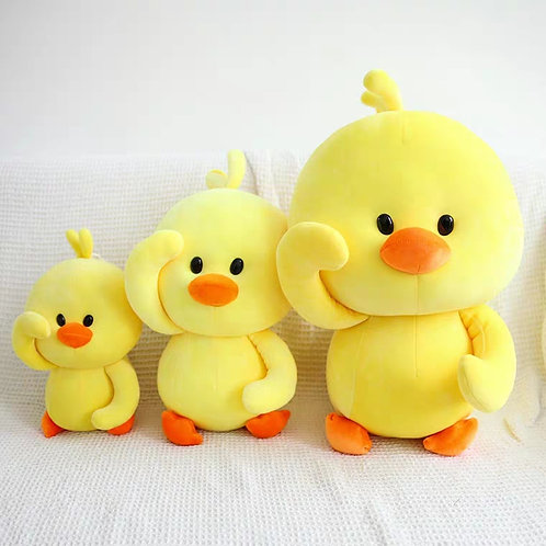 Plush Toys Claw Machine - Chic Chik 小黃鷄 Cushion Size (1 piece)