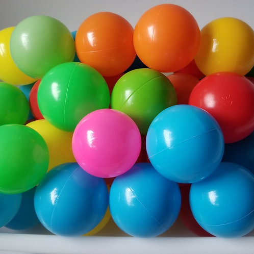 Toys - Claw Machine Colorful Balls 彩波 (40 pieces, assorted)