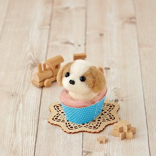 DIY- 日本Hamanaka材料紙杯西施 (套裝包) DIY Made in Japan Canis lupus familiaris in Cup