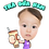 Thumbnail: Cute Series Template D1-D12 人像DIY產品素材 D1-D12 (1 piece/1 order)