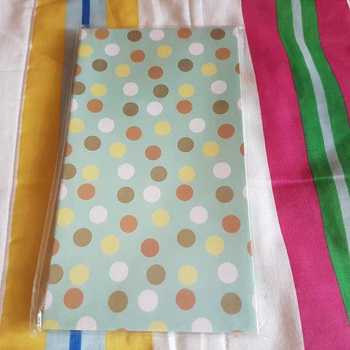 STATIONERY - Paper Gift Bags Blue Dot 禮物紙袋 - 粉綠藍點