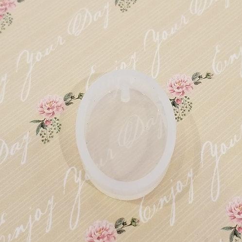 DIY Oval Mould -Accessories 橢圓形高級樹脂模具 1個