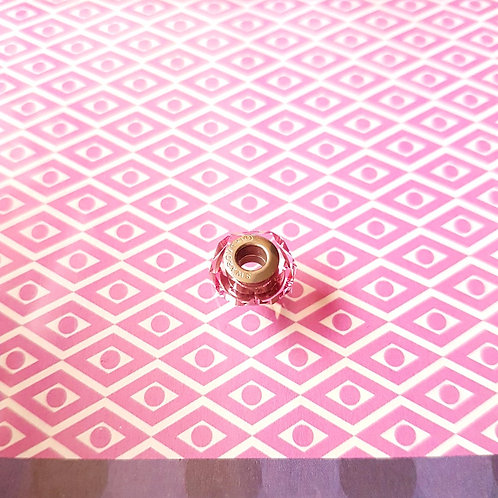 CHARMS 施華洛世奇 粉紅色水晶 串飾 Swarovski Pink Crystals 1 piece (單顆)