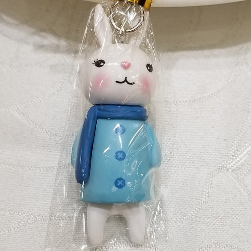 TOYS - FIGURINES Key-chain 藍衣小兔匙扣