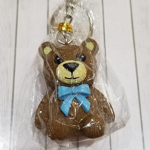 TOYS - FIGURINES Key-chain Teddy Bear 啡熊仔匙扣 (1 piece)
