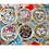 Thumbnail: ZHAXILAMU Mandalas Jewelry Box #18 Triangle M (1 box)
