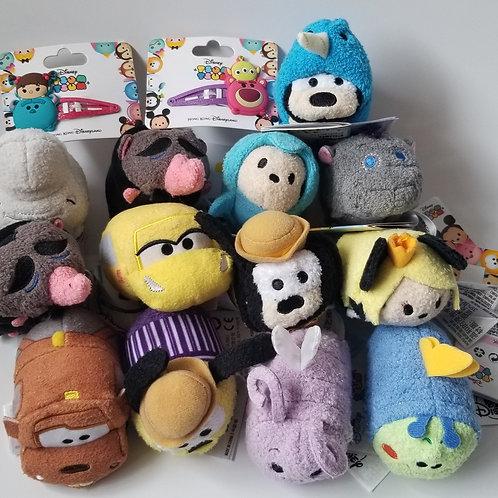 Plush Tsum Tsum Toys (15 pieces, assorted)