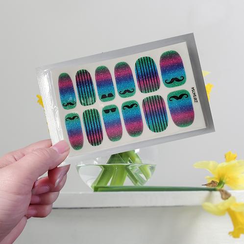 Designers' Nail Wraps - Stylish #12