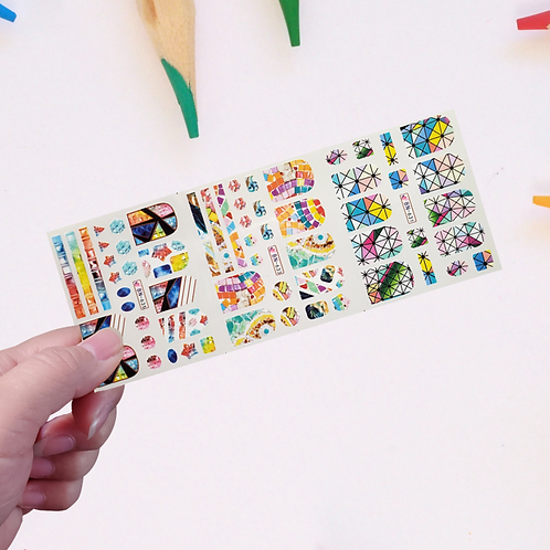 Water Decals Transfer Stickers #16 @piece