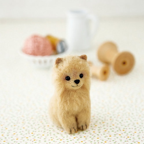 DIY- 日本Hamanaka松鼠狗 (套裝包) DIY Made in Japan Pomeranian