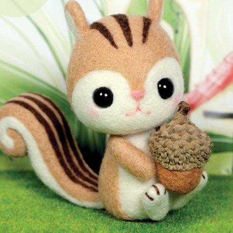 DIY- 橡果小松鼠 (套裝包) DIY Squirrel & Hazel Nut (Package)