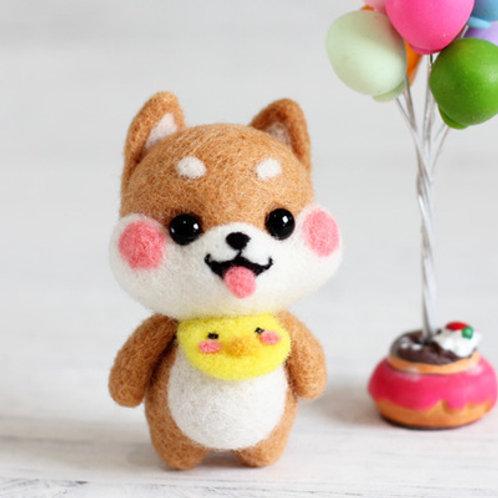 DIY- 可愛黃巾小狗 (套裝包) DIY My Doggie Yellow Collar (Package)