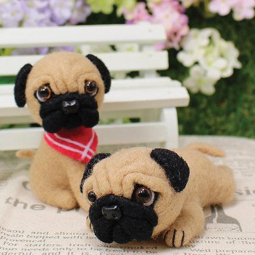 DIY-頑皮小八哥 (套裝包) DIY Funny Pug (Package )