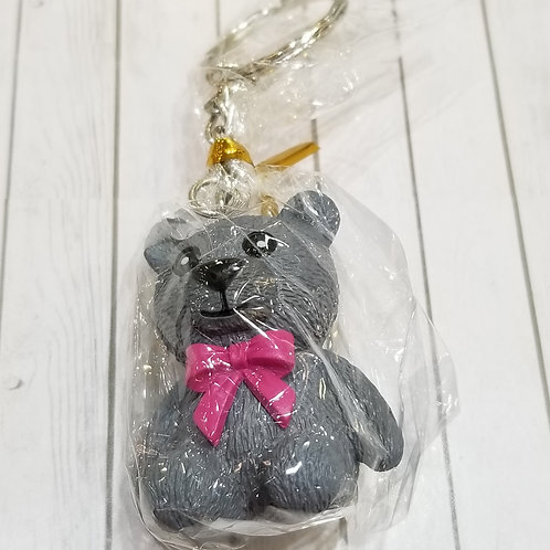 TOYS - FIGURINES Key-chain Teddy Bear 灰熊仔匙扣 (1 piece)