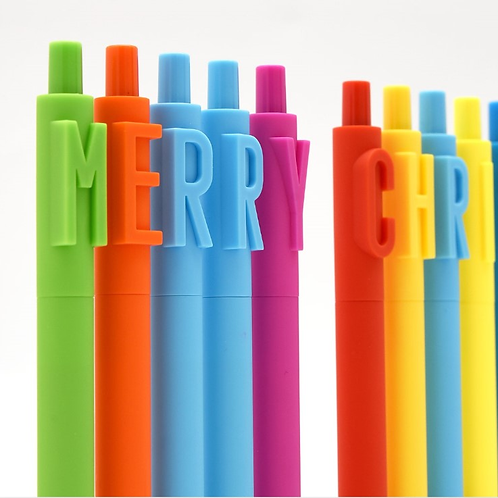 Pens with Characters 糖果色磨砂筆桿字母可定制標誌 (500 pieces)