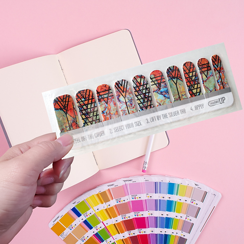UK Designers' Nail Wraps -ThumbsUp #19