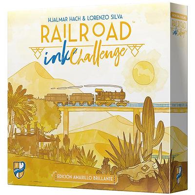 Railroad Ink Challenge Edición Amarilla