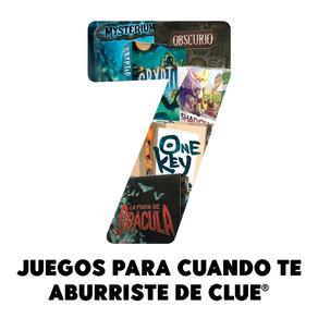7 juegos que puedes jugar cuando te aburriste de Clue®