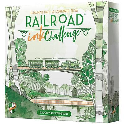 Railroad Ink Challenge: Edición verde