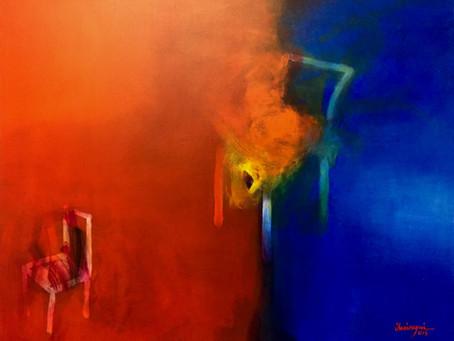 Olaciregui = abstraccionismo cinético