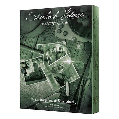 Sherlock Holmes Detective Asesor: Los irregulares de Baker Street