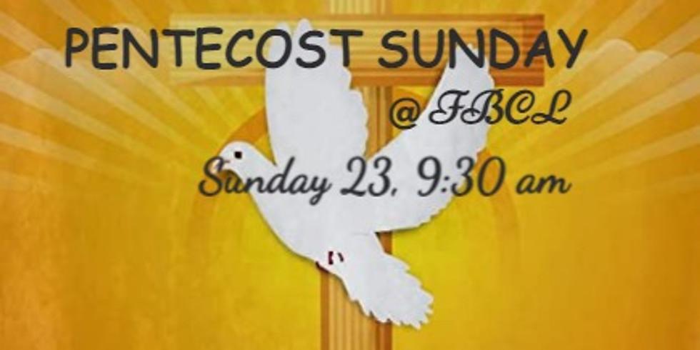 Sunday, May 23rd Service