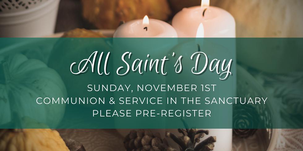 Sunday, November 1st Service