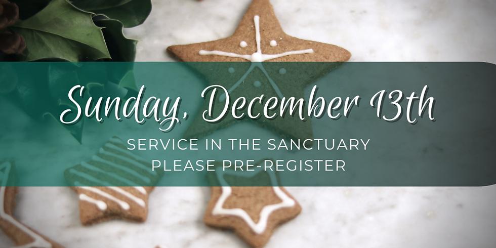 Sunday, December 13th Service
