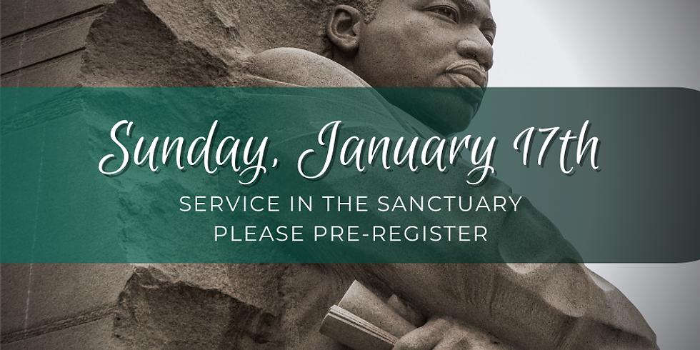 Sunday, January 17th Service