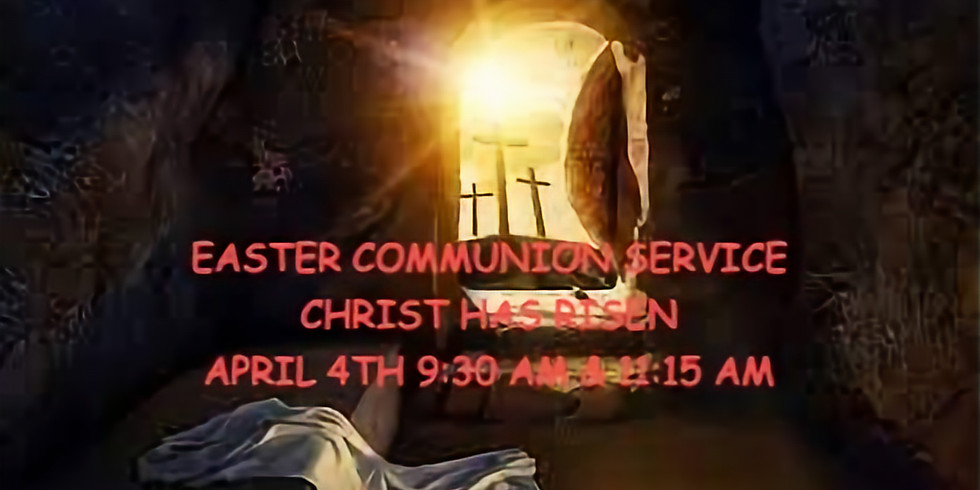 Easter Sunday, April 4th Service