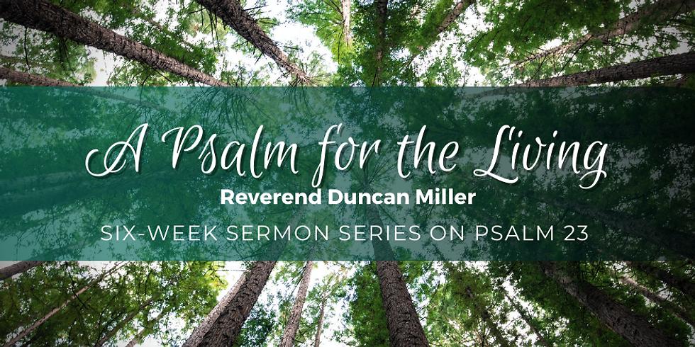 Six-Part Sermon Series: Psalm 23