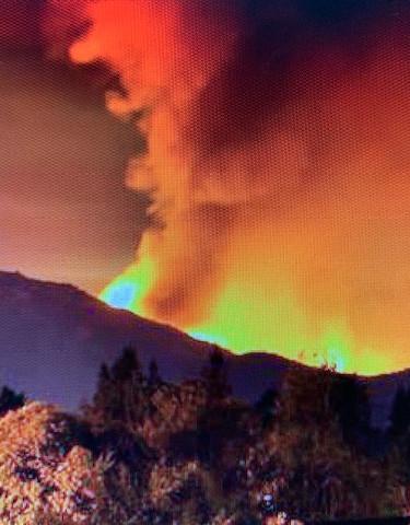 Mt Diablo fire (ABC News)